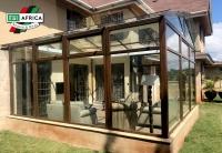 Winter garden in Kenya con profilo Seven